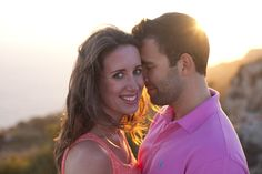 Sunset Pre-Wedding Photography in Malta with British Couple www.cherriecouttsphotography.com