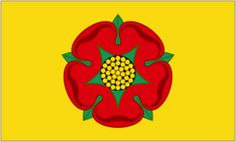 GBP - X Lancashire Flag Red Rose Yellow Background England English County Banner National Symbols, National Flag, County Flags, St Brides, Uk Flag, Yellow Background, Bowser, Red Roses, England