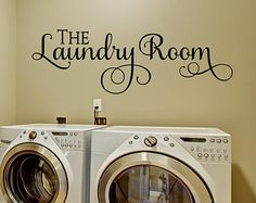 Items similar to Laundry Wall Decal - Wall Decal - Laundry Room Decor - Laundry Decal Wall Decals - Wall Vinyl - Vinyl Decal - Wall Decor - Decals - on Etsy Laundry Room Decals, Laundry Decor, Laundry Signs, Vinyl Wall Decals, Wall Stickers, Headboard Alternative, Wall Sticker Design, Vinyl Quotes, Letter Wall