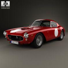 Ferrari 250 GT SWB Berlinetta Competizione 1960 3D Model .max .c4d .obj .3ds .fbx .lwo .stl @3DExport.com by humster3D