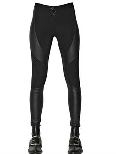 GIVENCHY - VISCOSE BLEND JERSEY LEGGINGS - LUISAVIAROMA - LUXURY SHOPPING WORLDWIDE SHIPPING - FLORENCE