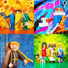 NOW AND THEN  4 ΔΕΚΑΕΤΙΕΣ PLAYMOBIL!