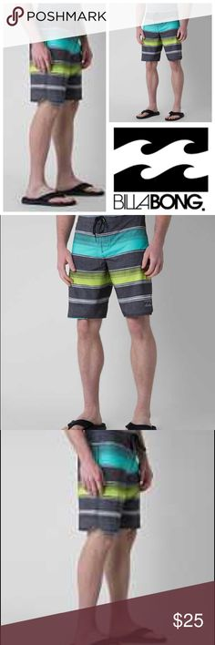 🆕BILLABONG BARRA PLATINUM X STRETCH BOARDSHORT 92% polyester/8% elastane  Stretch technology offers a smooth feel and excellent recovery  H2 Repel allows the fabric to dry quickly  Performance fit is engineered for extreme stretch and energy  Shred Right recycled fabric  Imported  Hand wash in cold water Quiksilver Swim Board Shorts