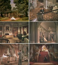 Gone with the Wind - Cinema Style: 20 Unforgettable American Movie Interiors  I would love to have some of these rooms in my Dream House!!!