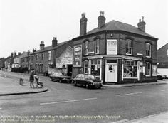 Broughton Street from Wollaton Road, Beeston, 1976
