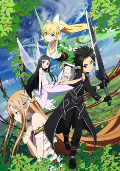Sword Art Online US Official Website for News, Updates and Trailers