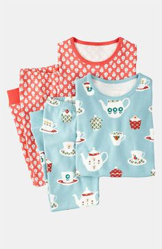 Mini Boden Fitted Pajamas (2-Pack) (Little Girls & Big Girls) available at #Nordstrom