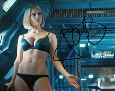 Star Trek Into Darkness: Alice Eve as Carol Marcus signed photo