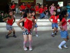 Waka Waka Dance by Selected Grade 2 Pupils of Bongbongon - YouTube