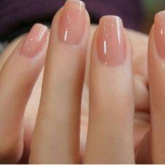 Nude Nail Art | French tip nail designs