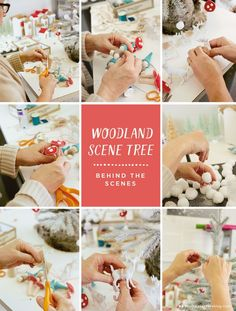 Hallmarker Betsy Gantt shows us how she created her Woodland Scene Christmas Tree, full of whimsical handmade ornaments. She's got so many cool Christmas ideas!