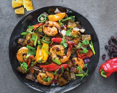 Now on newsstands: The June/July issue of Fine Cooking Magazine, featuring this mouthwatering Sun-Maid Pineapple and Raisin Shrimp Stir Fry. Stuffed Sweet Peppers, Stuffed Jalapeno Peppers, Raisin Recipes, Dried Pineapple, Shrimp Stir Fry, Shrimp Dishes, Fresh Lime Juice, Sweet And Spicy, Great Recipes