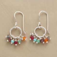 around the world earrings. $78.00 by Bujoy Bautista