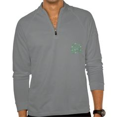 (Men's training pullover with clover leaves) #Bedrock #Bright #Cheerful #Clover #Drawn #Emerald #Funny #Green #Hand #Leaves #Pullover #Training #Trefoil #Verdant #Watercolor #Zip is available on Funny T-shirts Clothing Store   http://ift.tt/2eBHb3I
