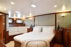 M/S Kestrel, master cabin
