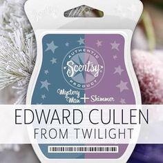 Edward Cullen Scentsy!  Shop now at https://clarissamarkling.scentsy.ca