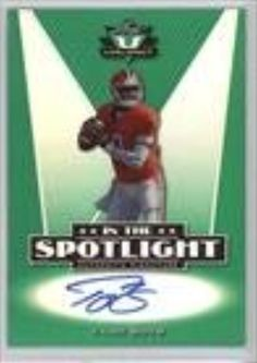Tajh Boyd (Football Card) 2014 Leaf Valiant In the Spotlight Autographs #S-TB1 -- Awesome products selected by Anna Churchill