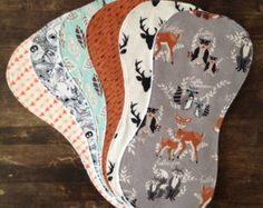 Items similar to Burp Cloths-Boy Burp Cloths-Burp Cloth-Burp Clothes-Burp Cloths Boy-Woodland Burp Cloth-Deer Burp Cloth-Burp Rags-Burp Cloths Etsy-bbsprouts on Etsy
