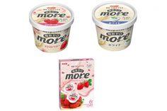 【注目の健康アイス】明治から脂肪ゼロなのにコクあるアイス「more」が新発売!  3/27発売です♪ #明治 #健康 #アイス #脂肪ゼロ #more #モア