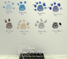 Corinna: Color Matching SU, CTMH and Memento Inks with Copics