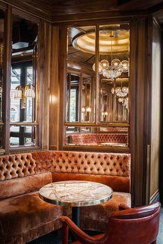 Le nouveau look de La Rotonde de La Muette : l'intérieur du restaurant