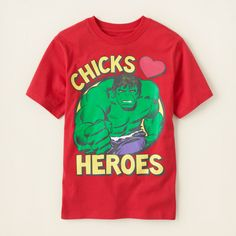 boy - graphic tees - The Hulk graphic tee | Childrens Clothing | Kids Clothes | The Childrens Place