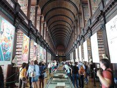 Trinity College Dublin Library - Dublin, Ireland. August 2014. Carol Garbelotto.