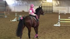 "5 year old jumping 2'6"" Jumping Course - Kinsley and Ruby"
