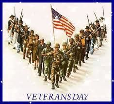 Thanks to all veterans.