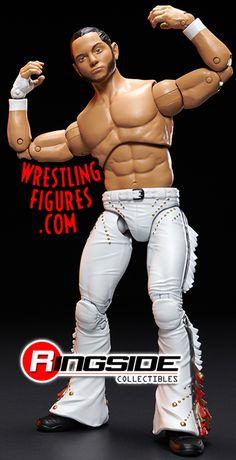 """AEW Chris Jericho /""""A LITTLE BIT OF THE BUBBLY/"""" Custom Shirt pour Mattel figures."""