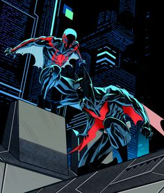 Batman Beyond/Spider-Man 2099