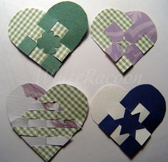 WhiteRacoon's handcrafts blog: More woven hearts