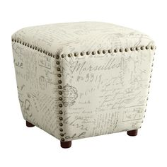 Found it at Wayfair - Haley Ottoman