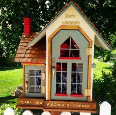 Long Live Little Free Libraries! BY WALLACE YOVETICH