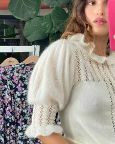 Jeanne Damas, Seasons Of The Year, French Beauty, French Girls, French Chic, Crochet Top, Pullover, Photo And Video, Womens Fashion