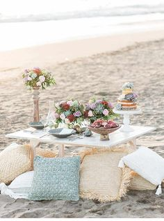 Balinese Bridal Beach Picnic by Wed Over Hills
