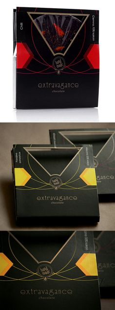 Extravagance Chocolate Package Design