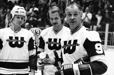 Howe ended his retirement in 1973 so he could do something few in pro sports get to do – play alongside his sons. Howe played with his sons, Mark and Marty for a seven-year stretch with the Houston Aeros, New England Whalers and Hartford Whalers and had incredible success. He and Mark registered NHL 2,592 points, the most by a father-son combination in league history. Mark, who started his career as a winger but later shifted to defense, was inducted into the Hockey Hall of Fame in 2011.