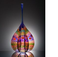 Stephen Rolfe Powell, a master craftsman and glass artist, was a graduate and is now a professor at #CentreCollege in #Danville, KY.  His startlingly beautiful glass works have become famous worldwide.  Click on the photo to be directed to his professional website, where you can find a video of how he creates his beautiful pieces!