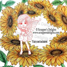 *Coloured Image NOT included Sample coloured by: Fernanda 1 Designs (Fairy not included)  3 Images in total in Jpeg & Png  Simply print and colour in as you would a traditional rubber stamp or leave clear Perfect for Stitching, Painting, Colouring and Tracing etc.. Print them as many times as you want! You Can Sell You Hand made Creations!  ANGEL POLICY ONLY --------------------------------- These image comes at 300 dpi   JPG & PNG format   © 2009 Scrappers Delights - Designs by Janice…