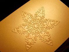 Holiday Card by Beth Pellerito, via Behance