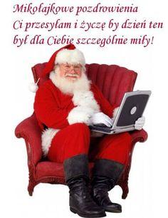 Kartka pod tytułem Mikołajkowe pozdrowienia Ci przesyłam... Merry Christmas, Animation, Merry Little Christmas, Wish You Merry Christmas, Animation Movies, Motion Design