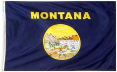 Annin Montana State Flag 3 by 5 Foot by ANNIN. $33.88. 100% SolarMax Nylon. Strong Duck Heading & Large Brass Grommets. 100% US raw materials. Durable & Fast Drying. Made in the USA. Made to Official State Design Specifications