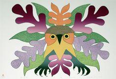 Summer Owl by Kenojuak Ashevak