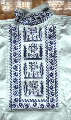 Dedina: Rejdová (Slovakia) Folk Embroidery, Modern Embroidery, Etnic Pattern, Pattern And Decoration, Folk Costume, Costumes, Lace Making, Traditional Outfits, Textiles