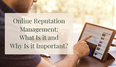 Learn more about #OnlineReputationManagement in this article! Marketing Tactics, Content Marketing, Online Marketing, Digital Marketing, Seo Ranking, Online Reviews, Reputation Management, Management Tips, Trust Yourself