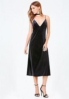 Mara+Velvet+Slip+Dress