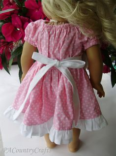Boutique Peasant (Doll) Dress Tutorial