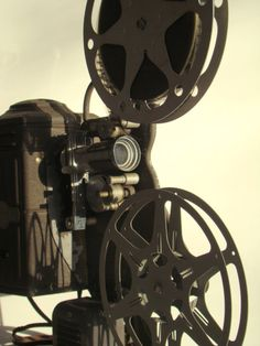 I miss the flicker of movies shown on these old projectors, followed by the slap, slap, slap as the reel reaches the end.