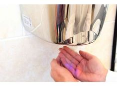 Hand dryers come in many different styles and shapes with different features. Ensure to find the automatic dryer that fit your business needs and budget. Perfect Image, Perfect Photo, Love Photos, Cool Pictures, Dark Tile Floors, Pink Vanity, Hand Dryer, Color Schemes Colour Palettes, Small Toilet